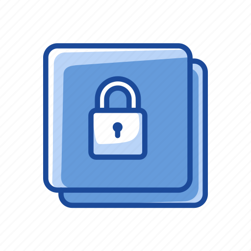 file secure, lock, padlock, security luck icon