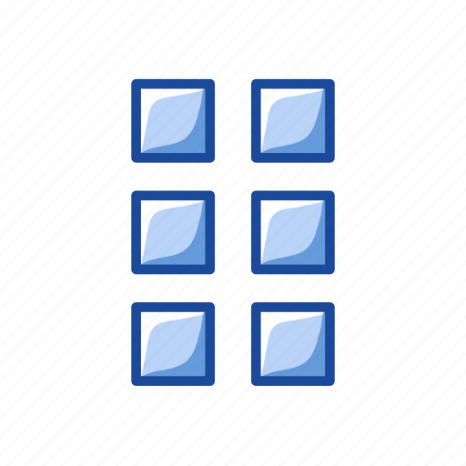 edit menu, shape, square, windows icon