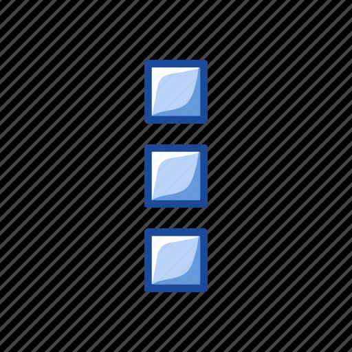 notification, settings, shape, square icon