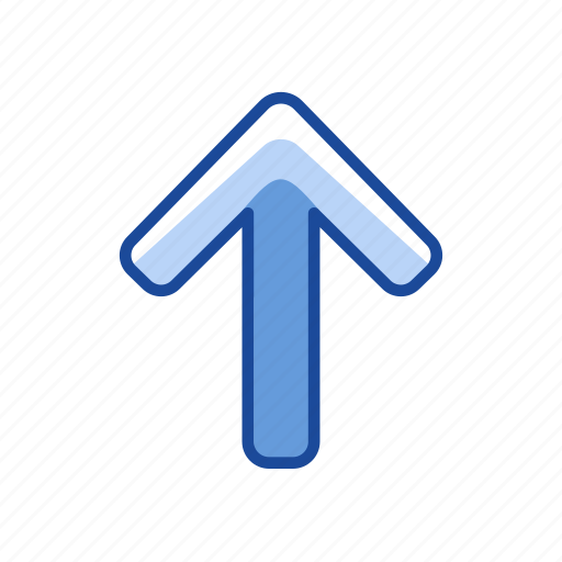 arrow up, navigate, pointer, upload icon