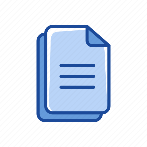 documents, letter, note, text icon