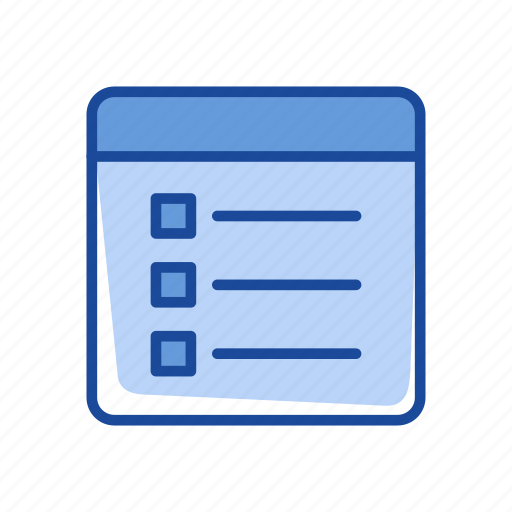 calendar, events, journal, notes icon
