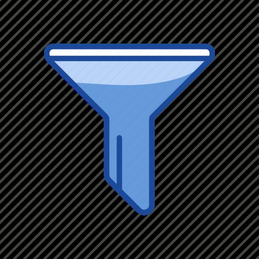 filter, funnel, liquid funnel, sales funnel icon