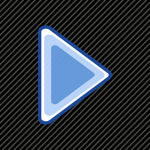 arrow, next button, pointer, remote icon