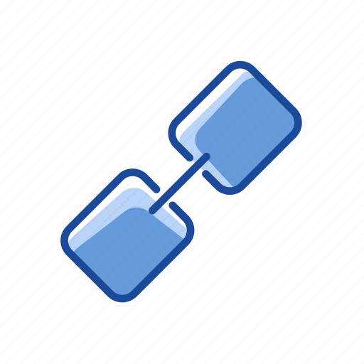 attached link, clip, link, paper clip icon