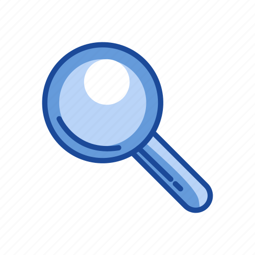 browse, magnify, magnifying glass, zoom in icon