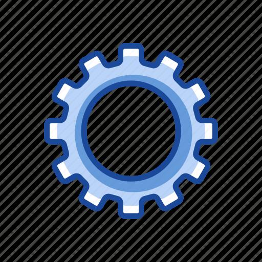 edit tool, gear, notification, settings icon