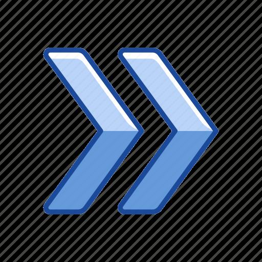 arrow, forward, next button, pointer icon