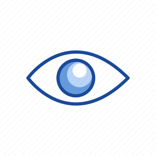 Eye, open, publish, show icon - Download on Iconfinder