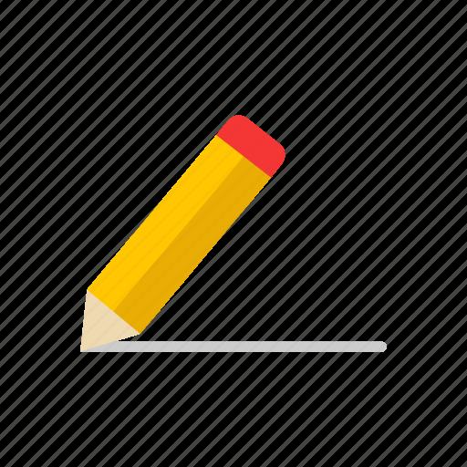 draw, pencil, post, write icon