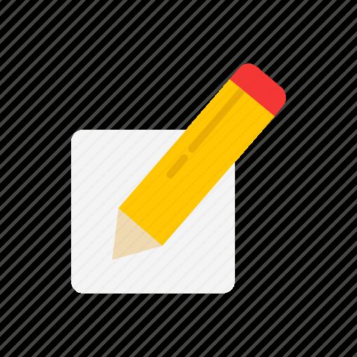 create blog, create post, pencil, write icon