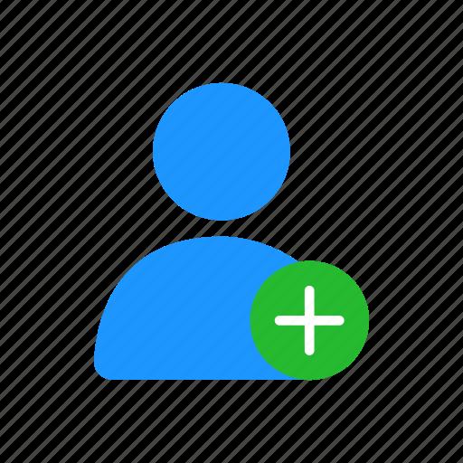 add contact, add profile, add user, profile icon