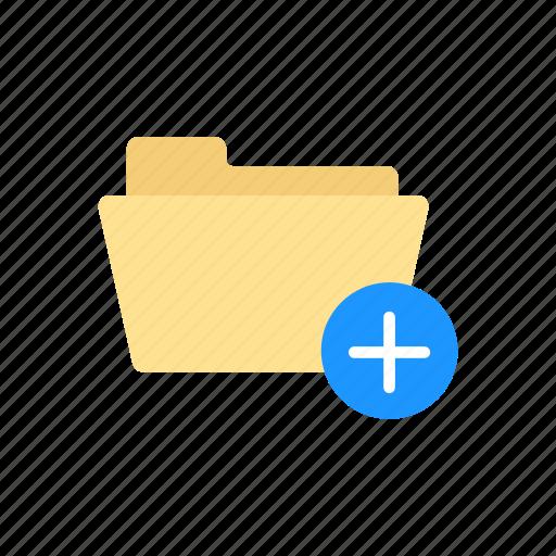 add document, add file, add folder, folder icon