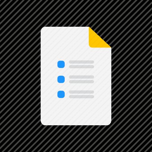 board, checklist, journal, list icon