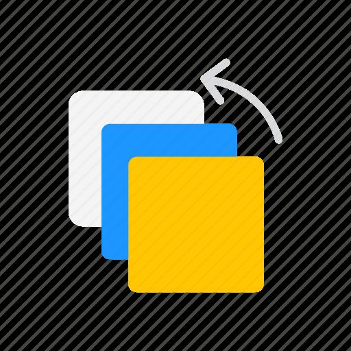 duplicate, duplicate file, squares, transfer file icon