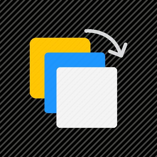 artboard tool, duplicate file, squares, transfer file icon