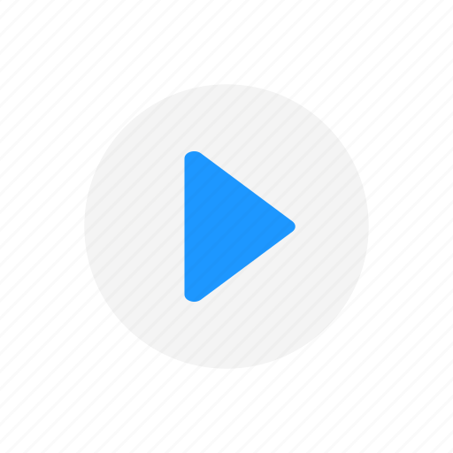 arrow right, play, play button, pointer icon