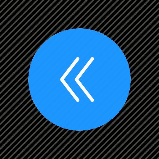 arrow, arrow left, back button, backward icon