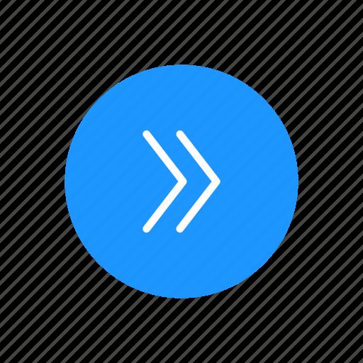 arrow right, navigate, next button, pointer icon