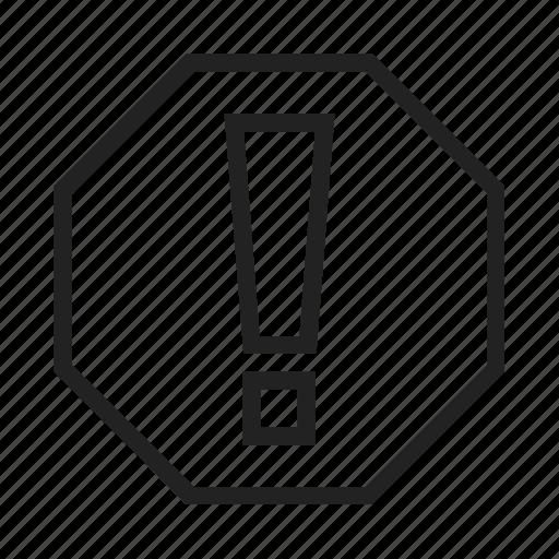 Warning icon - Download on Iconfinder on Iconfinder