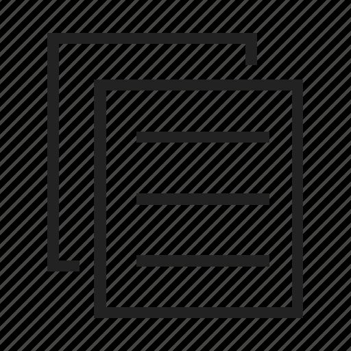 copy, document, paste icon