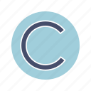 c sign, copy, copyright, intellectual, license, property, right
