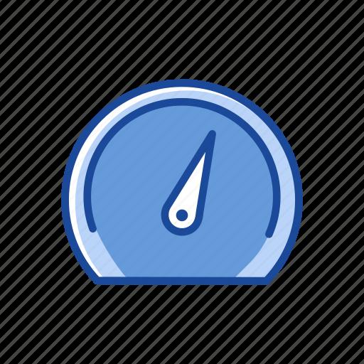 dashboard, monitor, speedometer, timer icon
