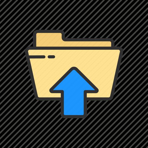 file, folder, upload, upload file icon