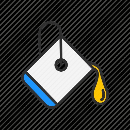 color, paint, paint spill, pait icon