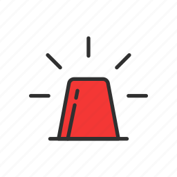 alarm, idea, security alarm, siren icon