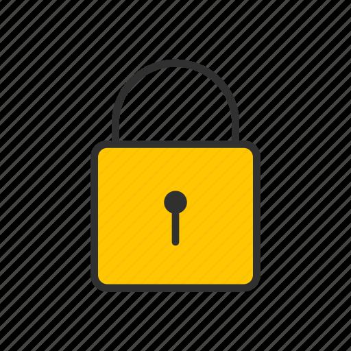 locked, padlock, security, security lock icon