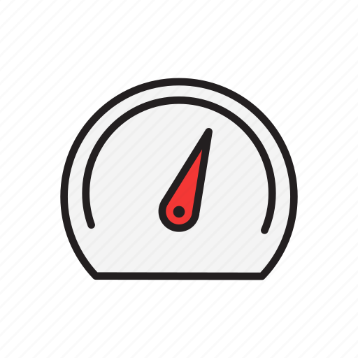 dashboard, gauge, metrics, speedometer icon