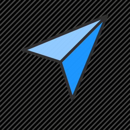 plane, post, send, share icon