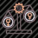 based, discrimination, gender, unequal