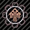 reform, reformation, upgrade icon