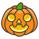 1f383, jack, lantern, o icon