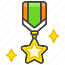 1f396, medal, military