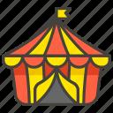 1f3aa, b, circus, tent