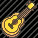 1f3b8, guitar icon