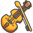 1f3bb, violin icon