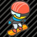 1f3c2, snowboard