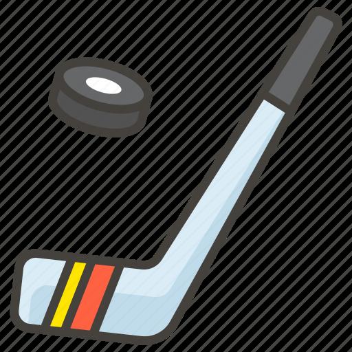 1f3d2, hockey, ice icon