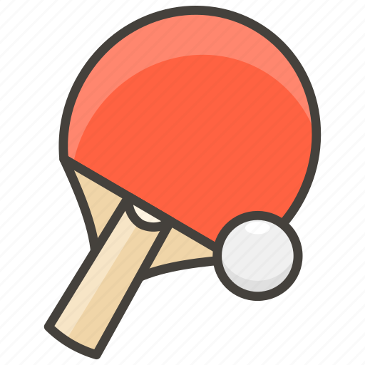 1f3d3, ping, pong icon