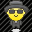 1f574, in, levitating, man, suit