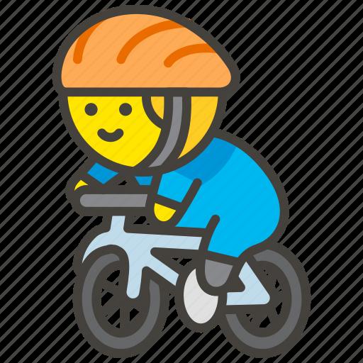 1f6b4, biking, man icon