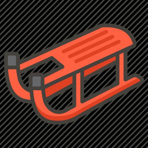 1f6f7, sled icon
