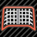 1f945, goal, net icon