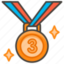 1f949, 3rd, medal, place
