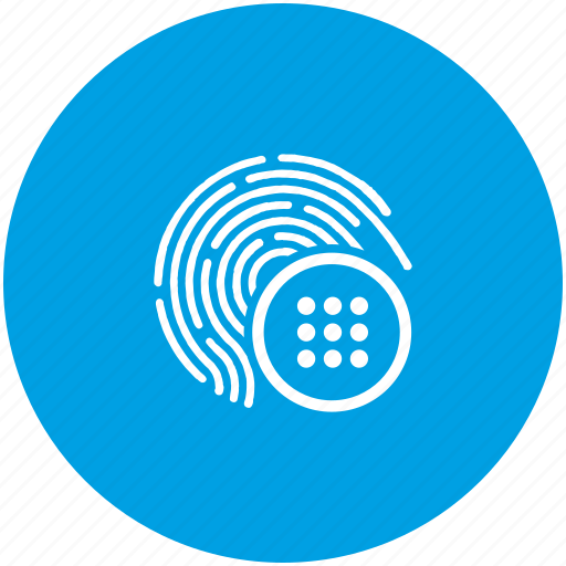 access, dactyl, finger, pass, password, pin icon