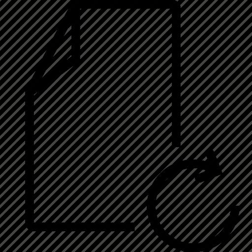 f5, file, refresh icon